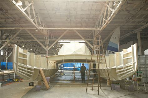 Plastic Catamaran Hull by Plastic Boat The Building Of A High Tech Eco Stunt Wired