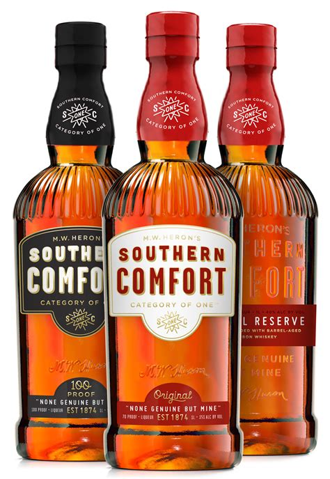 Brand New New Logo And Packaging For Southern Comfort By