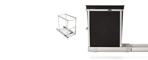 simplehuman trash can cabinet pull out