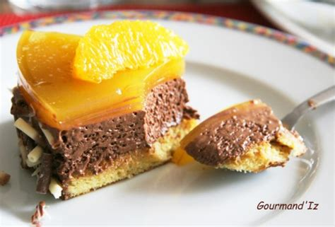 miroir chocolat orange par gourmand iz