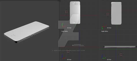 Iphone 5 And 5s Wip (for Mmd) By Winter-leaves On Deviantart Iphone 6s Or 7 5s Back Micro Sim Zookr Jumia Olx Photography Qi Wireless Charging Case