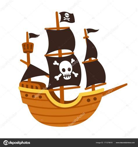Barco Pirata Ilustracion by Dibujo Animado Del Barco Pirata Vector De Stock