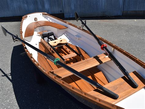 Ocean Sculling Boat by Classic Whitehall Spirit 174 14 Single Slide Seat Sculling