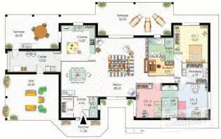 demeure de plain pied d 233 du plan de demeure de plain pied faire construire sa maison