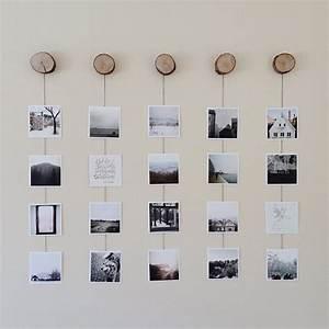 Bilderwand Gestalten Ohne Rahmen : photo wall collage without frames 17 layout ideas ~ Markanthonyermac.com Haus und Dekorationen