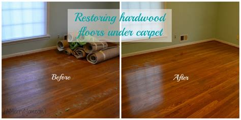 restoring hardwood floors carpet without refinishing the wood a merry