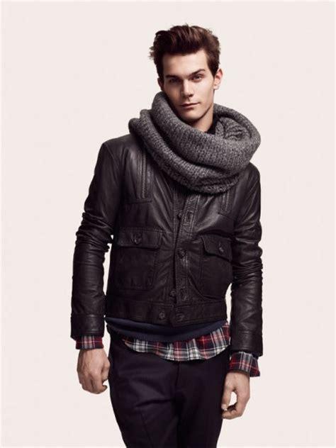 comment porter une echarpe homme