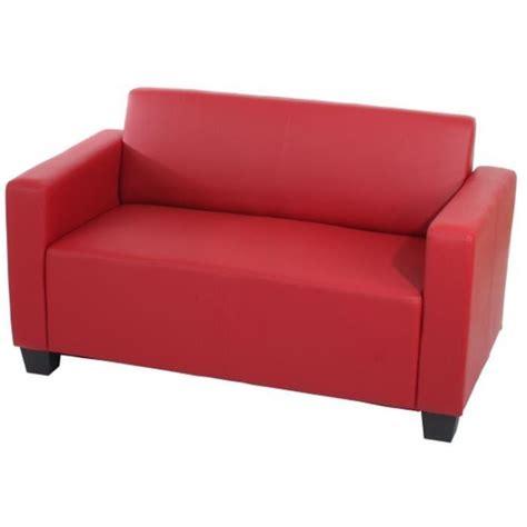 canap 233 de 2 places lyon en simili cuir d achat vente canap 233 sofa divan simili
