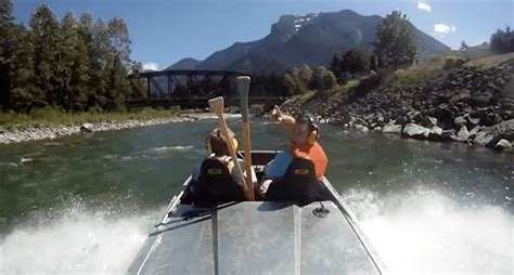 Mini Jet Boat Videos by Take An Awesome River Ride On A Homemade Mini Jet Boat Video