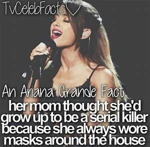 25+ best ideas about Ariana Grande Facts on Pinterest ...