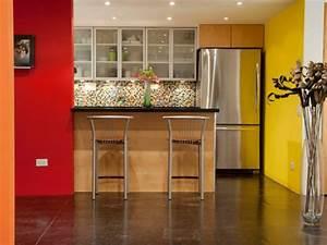 Küche Rot Streichen : wandfarbe k che ausw hlen 70 ideen wie sie eine wohnliche k che gestalten ~ Markanthonyermac.com Haus und Dekorationen