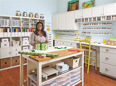 How To Turn Any Space Into A Dream Craft Room Hgtv's