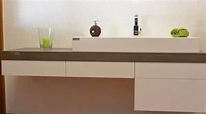 Waschtischplatte Mit Schublade : waschtischplatte holz schreinerei holzdesign rapp geisingen ~ Markanthonyermac.com Haus und Dekorationen