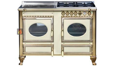piano de cuisson bois gaz et 233 lectrique 120cm avec 1 four et une plaque de cuisson
