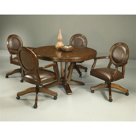 96 dining room set rolling chairs marvelous