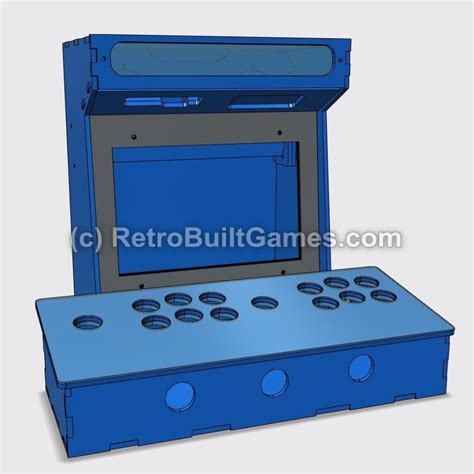 Mini Arcade Cabinet Kit by Diy Arcade Cabinet Kits More Mini Arcade Kits