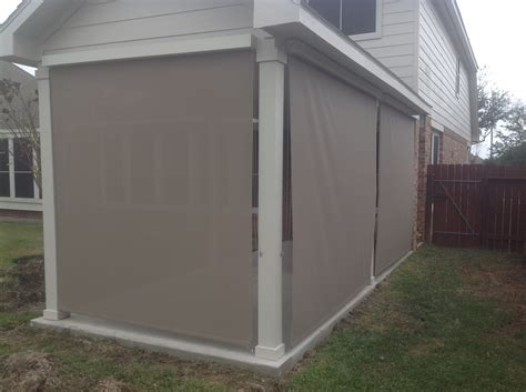 patio roll up shades fatare wallpaper