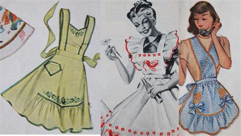 Oh, For The Love Of…vintage Aprons!