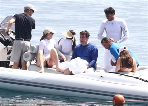 Small Boat Jobs by Steve Jobs Widow Laurene Goes Cycling In Portofino