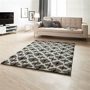 Teppich Wohnzimmer Grau : teppich schwarz wei grau wolle 3 gr en wohnzimmer vorleger l ufer flor neu ebay ~ Markanthonyermac.com Haus und Dekorationen