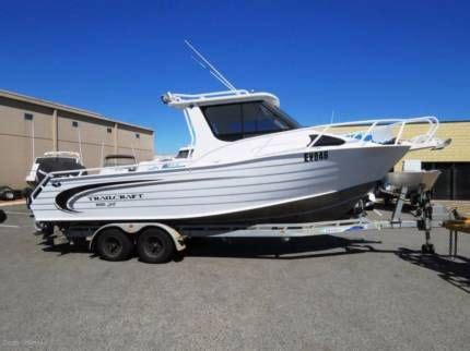 Boats Perth Gumtree by Trailcraft 8m Hardtop Twin Mrecury 4 Stroke Motorboats