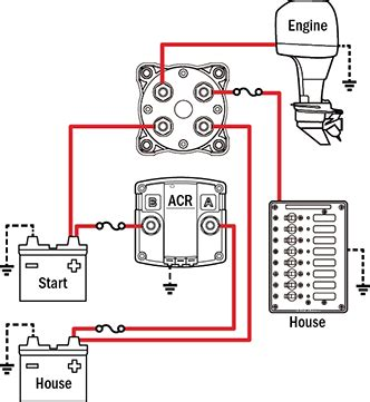 Boat Battery Too Low To Charge by Battery Management Wiring Schematics For Typical