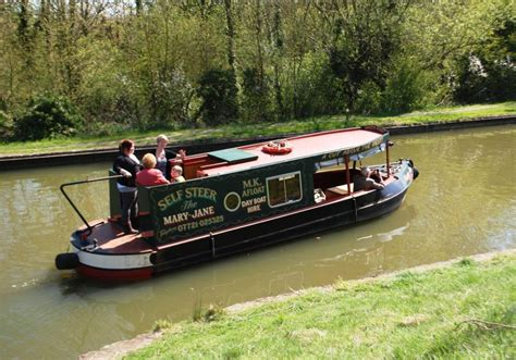 Party Boat Hire Milton Keynes by Barges On The Union Canal At Woughton Medieval Village