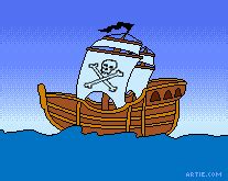 Boat Maker Cartoon by Talk Like A Pirate Day Cartoons
