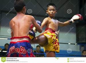 Muay Thai Fighters Editorial Stock Image - Image: 65869729