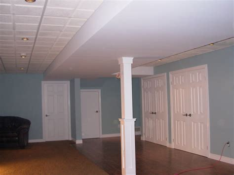 fresh basement ceiling material options 20928