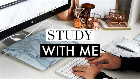 Study With Me #5 ♡ Real Time Studying Session (essay Writing) Youtube