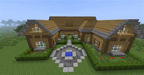 minecraft maison en bois tuto