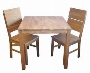 Kleiner Tisch Mit Stühlen : w set sch ne essgruppe mit tisch und 2 st hle kiefer massivholz com forafrica ~ Markanthonyermac.com Haus und Dekorationen