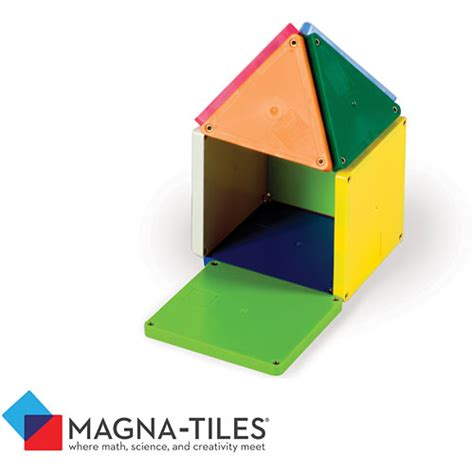 Magna Tiles Clear Vs Solid by Magna Tiles Solid Colors 100 Set Modern State