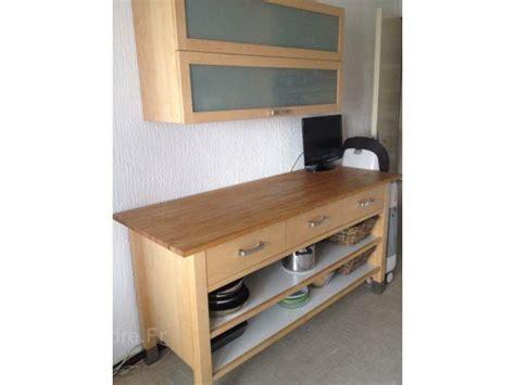 meuble cuisine ikea bois cuisine en image