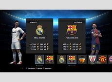 Demo 2 PES 2013 Real Madrid FC Barcelone Full Manuel YouTube