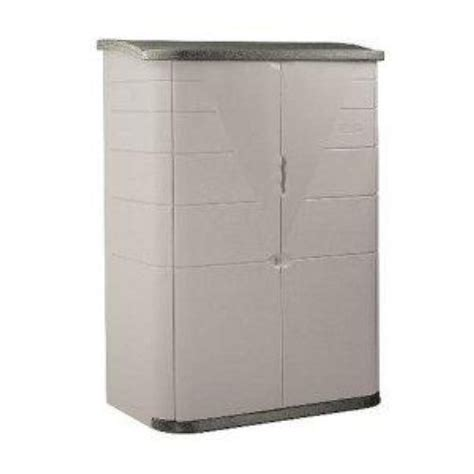 rubbermaid 3746 vertical storage shed 52 cu ft 445 99 ebay