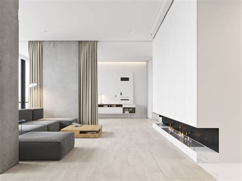 Gorgeously Minimalist Living Rooms That Find Substance