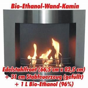 Bioethanol Kamin Wand : bio ethanol bioethanol wand edelstahl kamin ofen ethanolkamin kaminofen ebay ~ Markanthonyermac.com Haus und Dekorationen