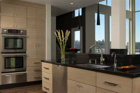 Flat Panel Cabinet Doors Kitchen Modern With 1 Piece Doors