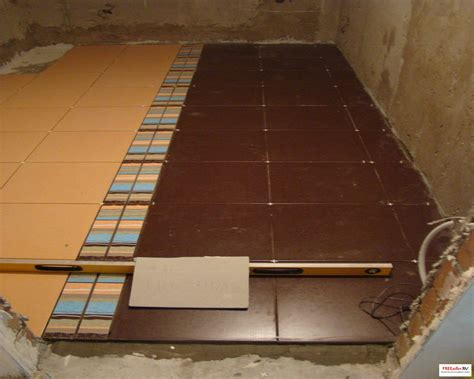 sol vinyl sur carrelage maison design sphena