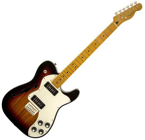 fender modern player telecaster thinline deluxe sunburst electric guitar ebay