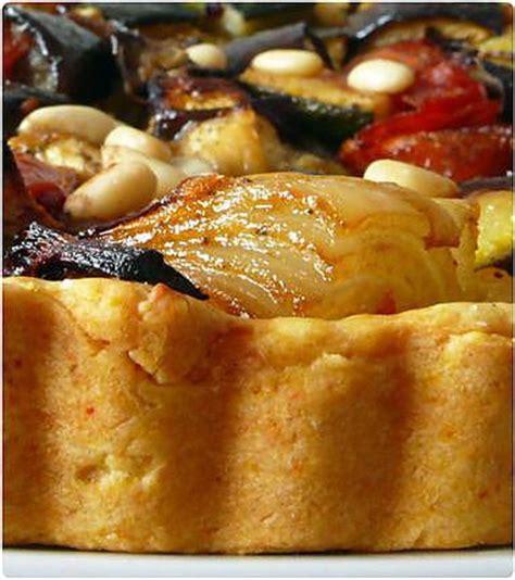 recette de tarte aux l 233 gumes aigre doux sur p 226 te sabl 233 e au ch 232 vre