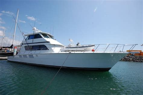 First String Fishing Boat by Used Hatteras Yachts For Sale From 60 To 70 Feet