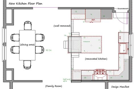 Havertown Kitchen Floor Plan Design Manifest