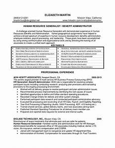 Impressive Hr Manager Resume Summary Also Hr Administrator ...