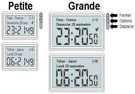 t 233 l 233 charger horloge mondiale pour windows freeware