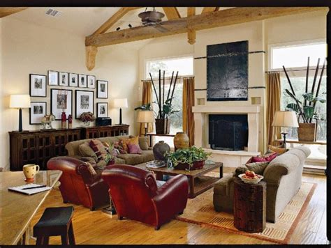 southern living idea home tropical family room by authentic reclaimed flooring