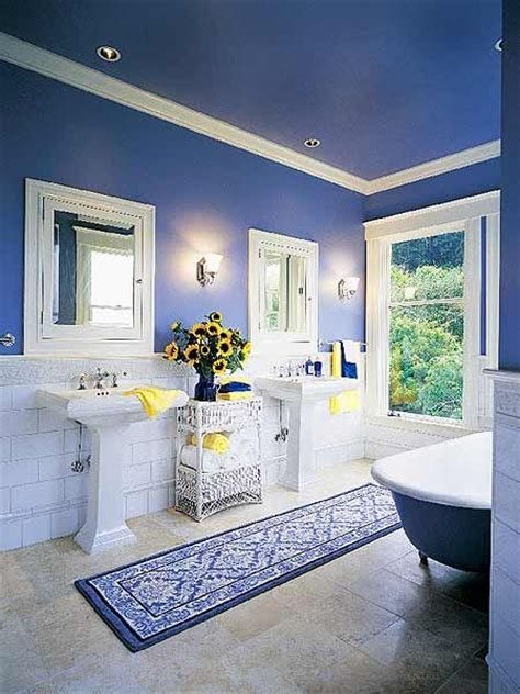 25+ Best Ideas About Blue Yellow Bathrooms On Pinterest