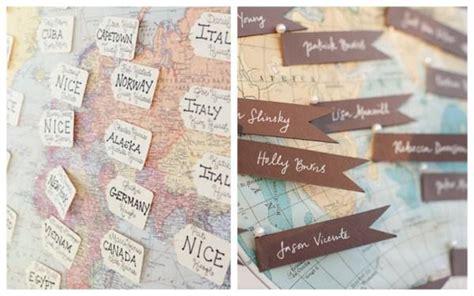 deco de mariage theme voyage paperblog